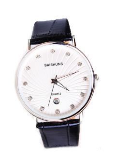Đồng hồ nam dây da Baishuns SLBS1494