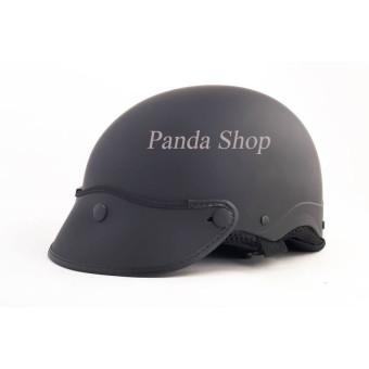 Nón bảo hiểm Sơn panda (đen)
