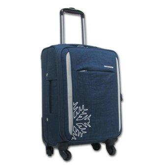 Vali kéo vải cao cấp Cosas United Navy hành lý xách tay 4 bánh xoay TA290