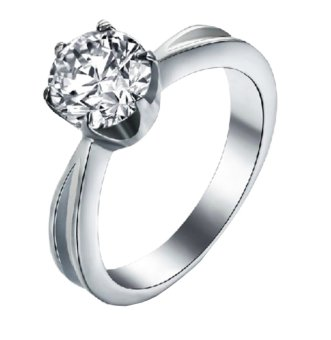 Mua Nhẫn nữ đá kim cương nhân tạo - NNU70 giá tốt nhất