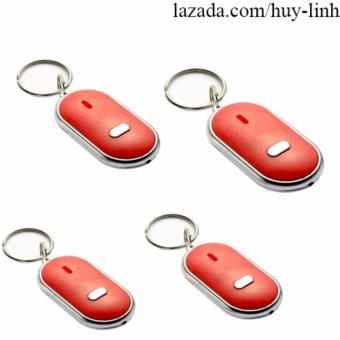 Combo 4 móc chìa khóa tiện dụng ( Đỏ )