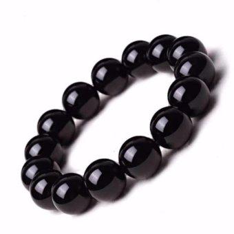 Vòng tay nam đá thạch anh đen phong thủy+Tặng kèm vòng tay thạch anh đen