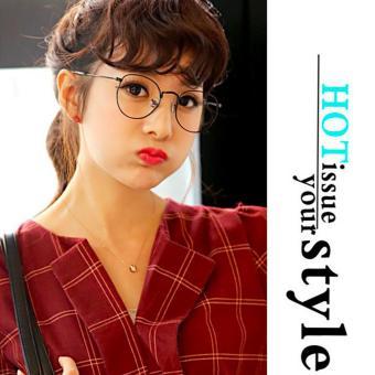 Mắt kính cận nữ ngố thời trang trẻ trung Hàn Quốc Urban Horizon FM0003 (Đen)