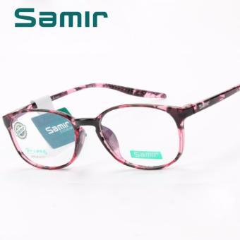 Gọng Kính Cận TR90 SAMLR 3117 ( da báo hồng)
