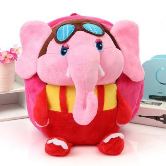 Balo chú voi đáng yêu cho bé trai (Đỏ)