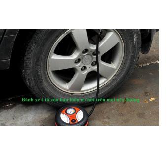 Máy bơm lốp điện 12V xe ô tô VIPauto-MBL01