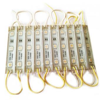 Bộ 10 thanh led trang trí 12V DC (Vàng)