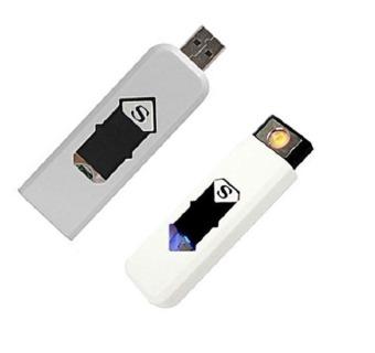 Bộ 2 bật lửa chữ S dùng điện có cổng USB MT