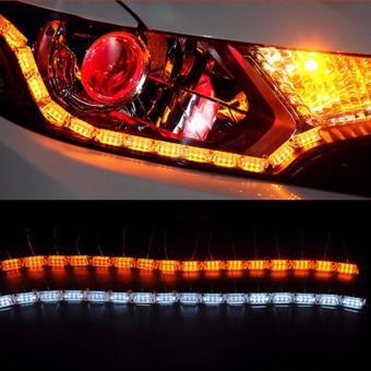 Đèn LED độ mí mắt đèn pha ô tô (dạng hạt to bản)
