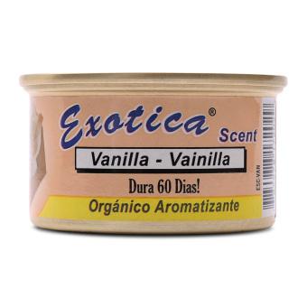 Sáp thơm khử mùi ôtô Exotica ESC-VAN Vanilla 42g (cam nhạt)