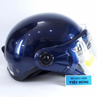Mũ bảo hiểm GRS A33K (Xanh tím than bóng)
