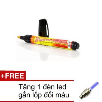 Bút Xóa Vết Xước Cho Ô Tô Xe Máy HQ206164-1A + Tặng 1 đèn led gắn lốp đổi màu 206131