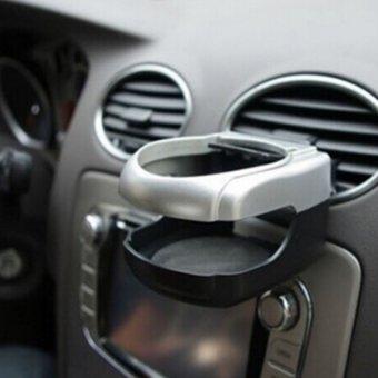 Kệ tròn để nước gạt tàn trên xe ô tô HQ STORE 0TI21