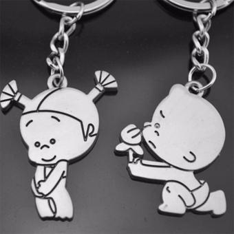 Móc khóa cặp tình nhân I Love You Ogiare - Keychain Keyring Gift