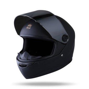 Mũ Bảo Hiểm FULL FACE ROYAL m136 ( đen nhám)