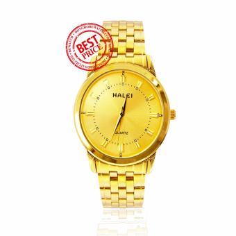 Đồng hồ nữ dây kim loại Halei HA18952-15NU (Vàng)