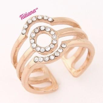 Nhẫn Mặt Trời Màu Vàng N2301