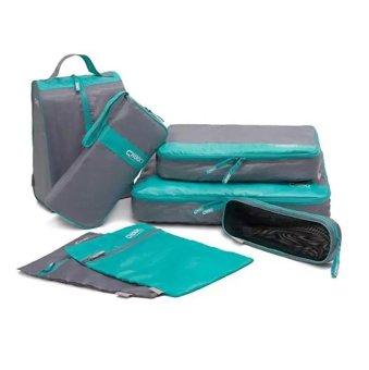 Bộ 7 túi du lịch chống nước (Xanh)