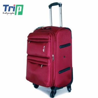 Vali Vải TRIP P033 Size M - 24inch (Đỏ đô)