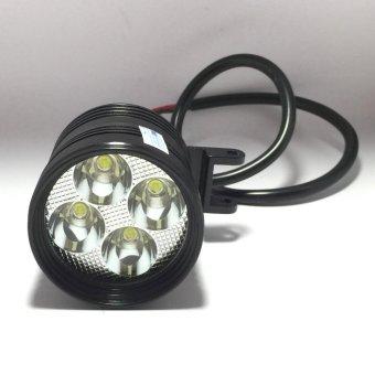 Đèn pha led trợ sáng L4 CYT-T01 3 chức năng pha cos passing gắn xe máy