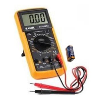 Đồng hồ đo vạn năng Excel DT9205A Kèm Pin chuyên dụng sửa chữa điện tử GamoShop (Đen phối vàng)