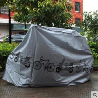 Bạt che xe máy, xe đạp điện in hình