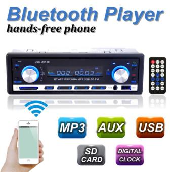 Bluetooth Car Stereo Mp3 player USB/SD AUX Audio Player 1 DIN In-Dash Radio - intl