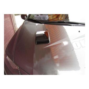 Hốc gió vuông nắp capo trang trí xe hơi LỘC PHÁT ALCC