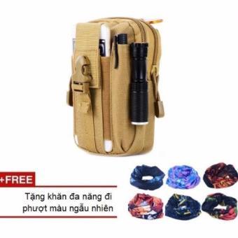 Túi thời trang đeo hông, thắt lưng N03+KHĂN PHƯỢT