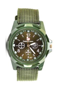 Đồng hồ nam dây dù Army AMY-7010-02 (Xanh rêu)