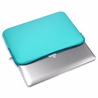Túi chống sốc Macbook 13 inch (Xanh Ngọc)