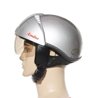 Mũ bảo hiểm Andes 181 3S (Bạc trơn)