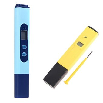 Digital EC Conductivity Meter Tester Pen + PH Meter Hydroponics UK