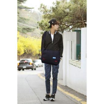 Túi đeo chéo xuất khẩu giá rẻ thương hiệu Balo153 Black