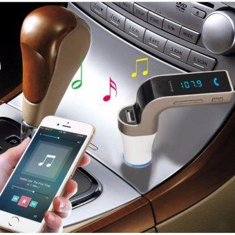 Tẩu nghe nhạc CarG7 qua blutooth cho ô tô (có cổng sạc điện thoại)