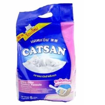 Cát vệ sinh cho mèo Catsan 5L/4.2kg