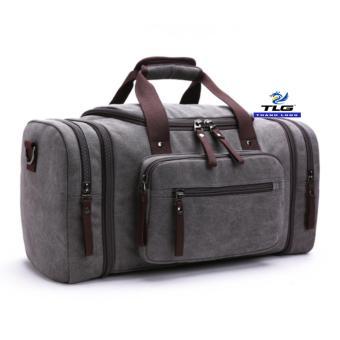 Túi du lịch cỡ đại vải canvas Thành Long TL8146 2(xám)