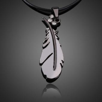 Fantay Feather Pendant Neckace Boy Gir Jewery Uniex