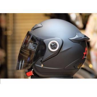 Mũ Bảo Hiểm ASIA M168 Kính Khói Đi Ban Đêm Và Ban Ngày Đều Được
