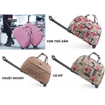 Vali túi kéo du lịch vải dù size 20 inch B180