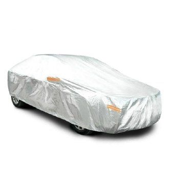 Áo Trùm Xe Ô Tô cho Sedan(4 chỗ) 2 lớp phủ nhôm bạc, chống ẩm, 4D 3XL Cao cấp