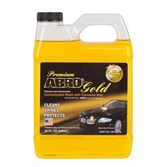 Nước Rửa Làm Bóng Sơn Ô tô - Xe Máy ABRO PREMIUM GOLD CAR WASH 1L