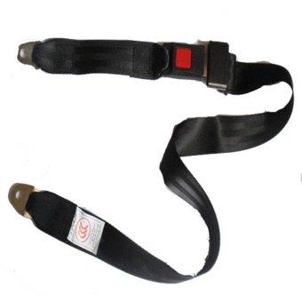 Car Seat Belt Two Point Seatbelt For Van/School Bus/Passenger Car - intl