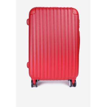 Vali Nhựa Cứng Sam 24 Inch ( Hồng Đỏ )