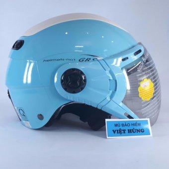Mũ bảo hiểm GRS A102K (Xanh nhạt)