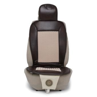 Lót ghế có quạt cho ô tô Auto Quoc Te HBL-G12 (Kem Nâu)