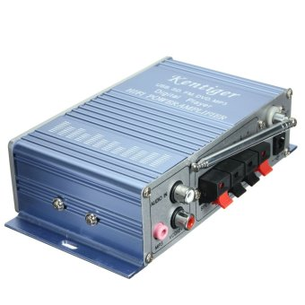 Power Amplifier HiFi Stereo 2-CH AMP For Car Motorcycle MP3 FM Audio Music Mini - intl
