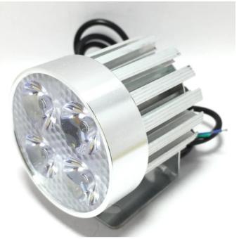 Đèn pha trợ sáng 4 LED siêu sáng dành cho xe mô tô, xe điện (so so nice - màu trắng)