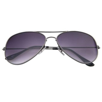 Unisex Vintage Retro Aviator Mirror Lens Sunglasses Fashion Travel - intl