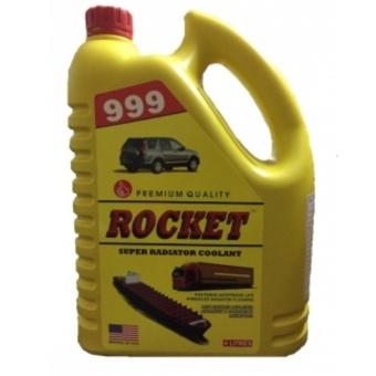 Nước làm mát cao cấp cho ô tô xe đầu kéo ROCKET 999 màu xanh 4L